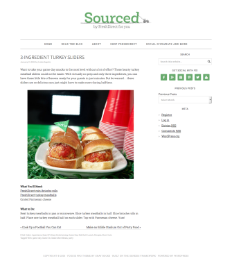 3-Ingredient Turkey Sliders