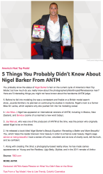 5 Things You Probably Didn't Know About Nigel Barker From ANTM