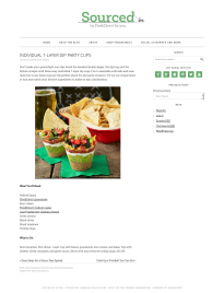 Individual 7-Layer Dip Party Cups