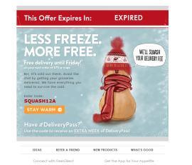 Less Freeze More Free