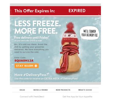 Less Freeze More Free