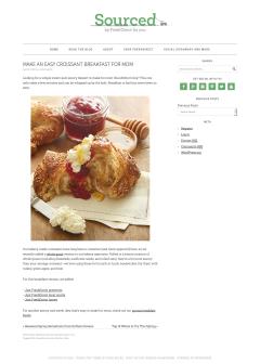 Make an Easy Croissant Breakfast for Mom