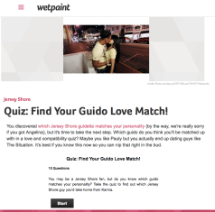 Quiz | Find Your Guido Love Match
