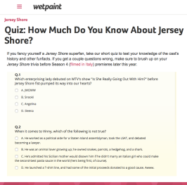 Quiz   How Much Do You Know About Jersey Shore?