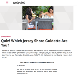 Quiz   Which Jersey Shore Guidette Are You?