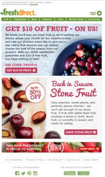 Seasonal Stone Fruit